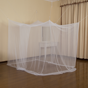 Venta al por mayor de uso familiar Anti-mosquito Box Net Colgando Mosquitera para adultos